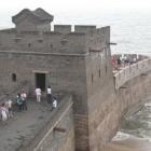 Великая китайская стена выход на море